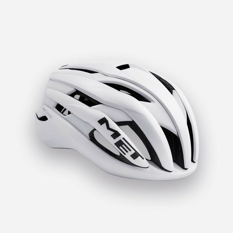 2019 MET Trenta Road Bike Cycling Bicycle Helmet - S M L - Glossy White