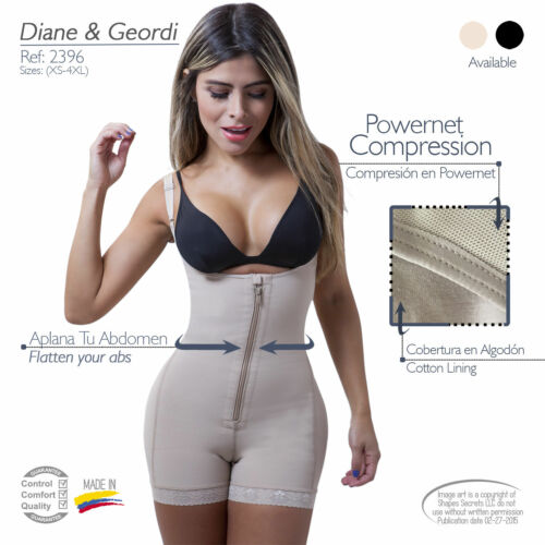 Fajas Colombianas D/&G 2396 Women/'s Liposuction Bodyshaper FREE FAST SHIPPING