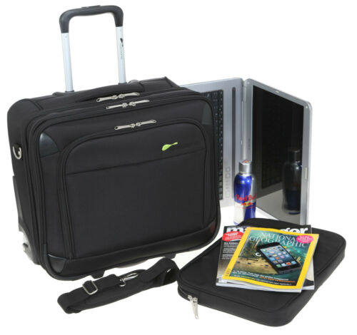 Trolley COCOONO DRIVE mit Laptoptasche Businesstrolley Laptoptrolley Trolly TSA