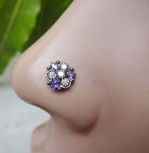 Black-Nose-Ring-Sapphire-Stone-Nose-Jewelry-Black-Nose-Stud-Piercing-Crock-Screw