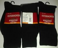 Interwoven By Burlington, Nylon Dress Sock, Blk, 6 Pr Only $19.99 +free Shipping