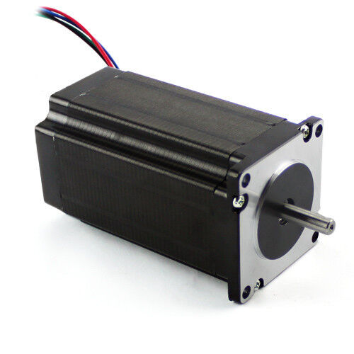 3 PCS NEW NEMA 23 STEPPER MOTOR 381 OZ-IN with Dual Shaft with Low Inductance
