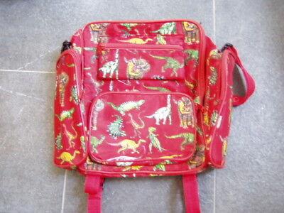 * Cooler Roter Rucksack Dinosaurier * Wir Nehmen Kunden Als Unsere GöTter
