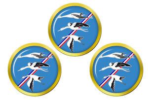 Escadron-De-Chasse-01-002-034-Cigognes-034-Francais-Air-Force-Balle-de-Golf