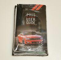 2015 Dodge Charger Navigation Owners Manua Guide Srt Hellcat 392 Rt 6.4 6.2l 5.7