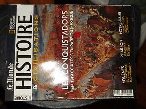 25$$ Revue Le Monde Histoire N°51 Conquistadors 1519 Cortés S'empare Du Mexique Emballage Fort