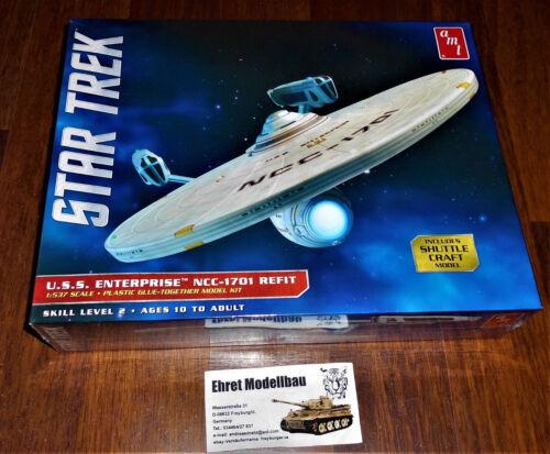 Enterprise NCC-1701 Refit Shuttle 1:537 AMT AMT1080 AMT  Star Trek U.S.S