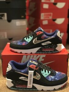 Nike Air Max 90 Galaxy Supernova 2020 Cw6018 001 Size 11 Ebay