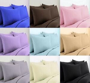 2-X-Funda-de-almohada-de-algodon-egipcio-de-lujo-100-ama-de-casa-Paquete-de-200-Hilos-Par