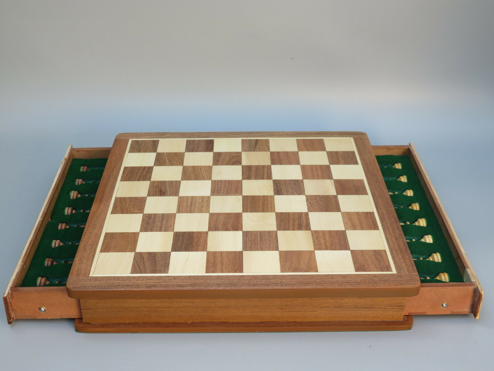 Chess Set Carré Solide palissandre Wooden Chess Set Board Game 14