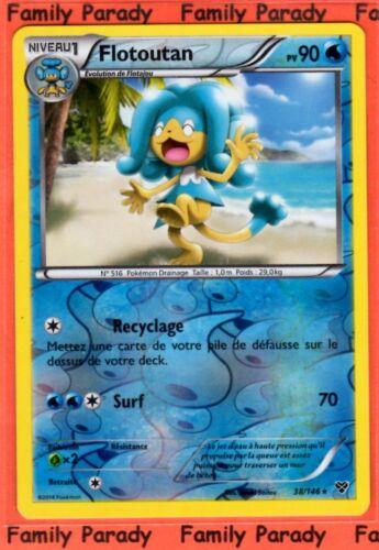 Flotoutan REVERSE 90pv 38//146 XY Carte Pokemon Rare neuve fr