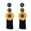 Women-Fashion-Bohemian-Crystal-Long-Tassels-Earrings-Elegant-Drop-Dangle-Jewelry thumbnail 4