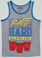 Fifth Sun Men's party Hard All Night Long Tank Top Shirt