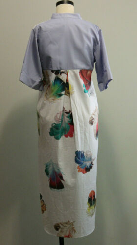 Romance Was Born 100% Cotton Feather Print Wide S… - image 1