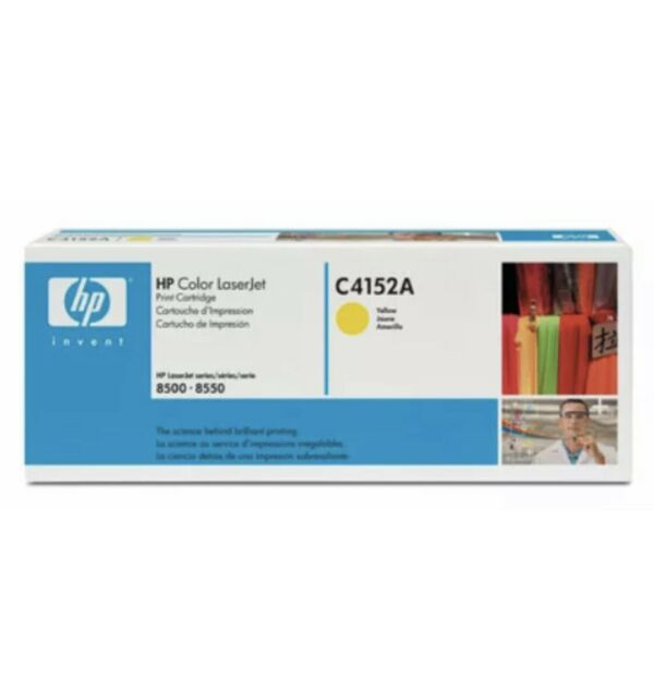 HP C4152A toner cartridge Original Yellow 1 pc(s)