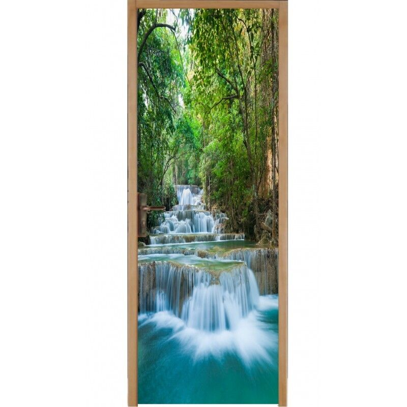 Aufkleber Tür Flach Wasserfälle Wasserfälle Wasserfälle 491 c2cfab