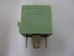 Original BMW e34 e36 e46 e39 e38 Relais Siemens Schliesser 8373700