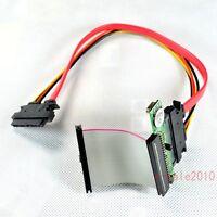 "2.5"" SATA to 44pin mini IDE adapter +5CM 44pin IDE cable+SATA 22pin cable MF 205"