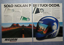 MOTOSPRINT987-PUBBLICITA'/ADVERTISING-1987- NOLAN CASCO N42