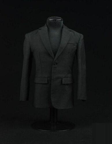 1//6 scale Black Color business Suit Agent Man clothes for Hot toys ❶US seller❶
