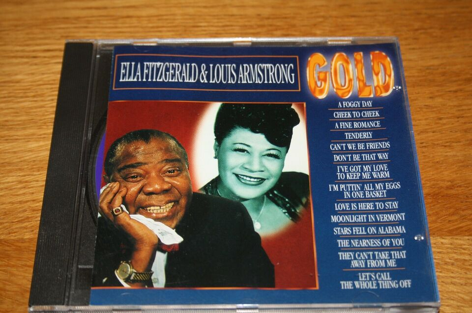 """Ella Fitzgerald & Louis Armstrong: """"GOLD"""", jazz"""