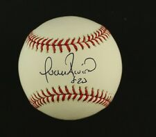 Andruw Jones Single Signed Official Baseball MLI/COA