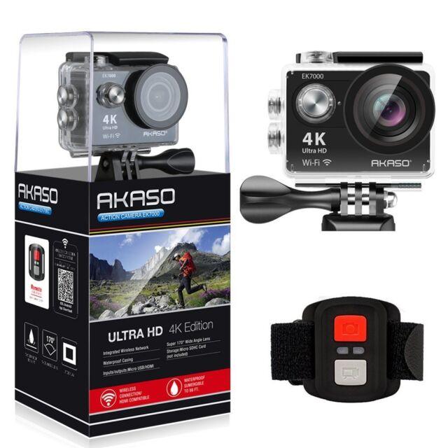 AKASO EK7000 4K Sport Action Camera [NEW 2018] Ultra HD Camcorder 12MP WiFi