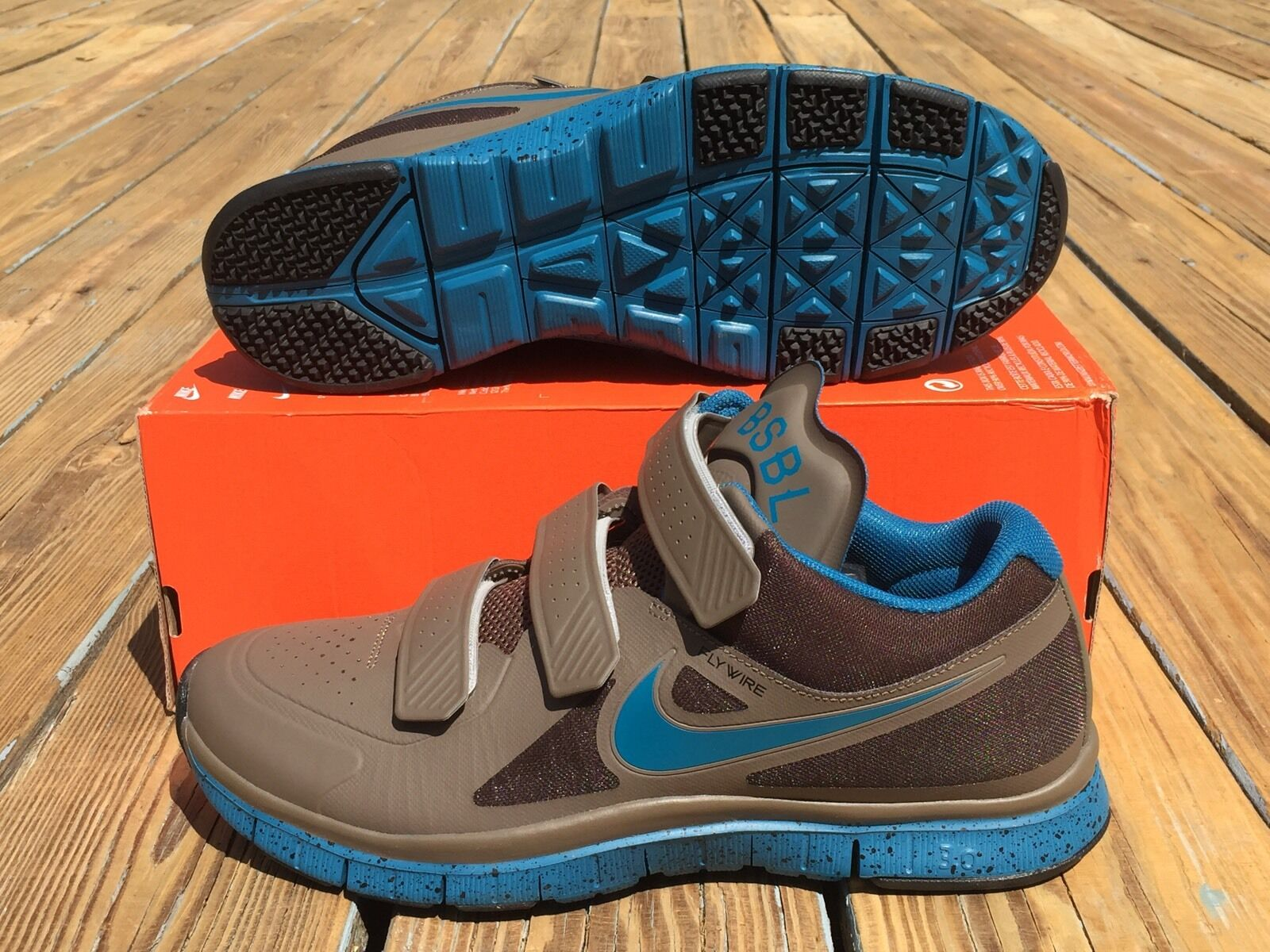 Nike MVP Free Trainer Elite JAPAN SAMPLE Chaussures Gris bleu SZ 10 ( 599368-230 )
