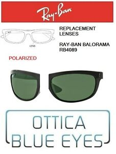 Lenti-di-Ricambio-RAYBAN-BALORAMA-RB4089-601-58-Replacement-Lenses-Ray-Ban-Polar