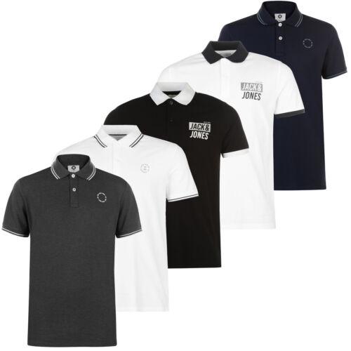 Modelle NEU S-2XL Jack /& Jones Polo Shirt Herren Poloshirt Kurzarm versch