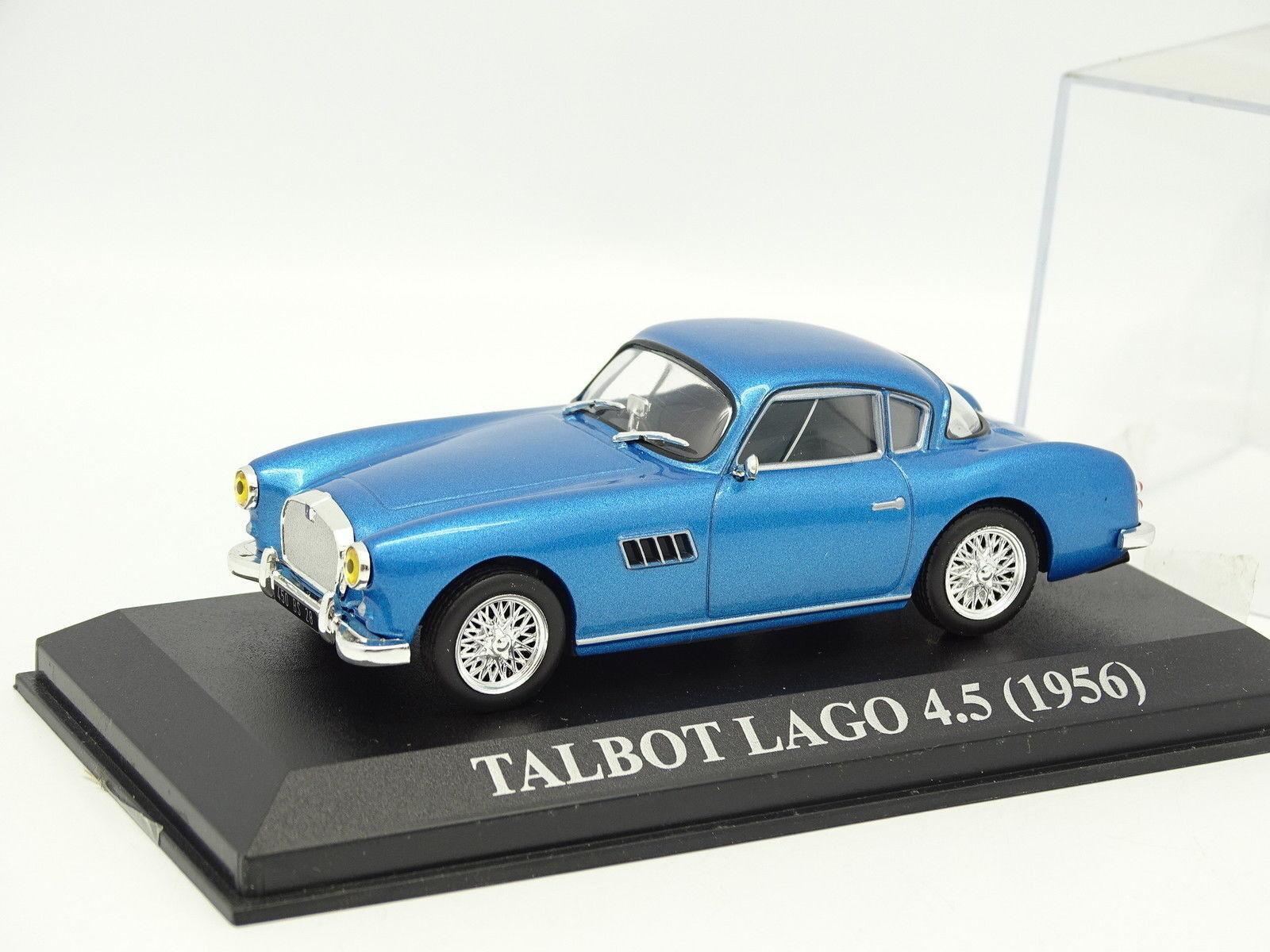Ixo Stampa 1 43 - Talbot Lago 4.5 1956 blue