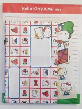 Sanrio Loot Crate Hello Kitty and Mimmy Stationary Set New in Package Kawaii