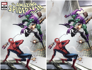 AMAZING SPIDER-MAN 850 49 CLAYTON CRAIN VARIANT COVER A AND B SET