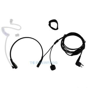 2-Pin-PTT-Throat-Mic-Covert-Acoustic-Tube-Earpiece-Headset-for-Motorola-TN2F
