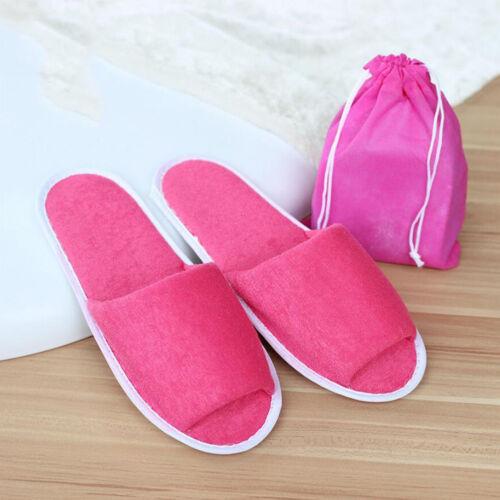 Mode Unisex Hausschuhe Hotelschuhe Pantoffeln Latschen Indoor Slipper Schlappen