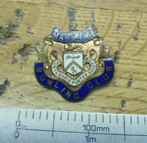 Margate-Bowling-club-enamel-badge