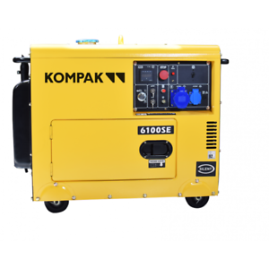 Kompak 5.5kw Diesel NT-6100SE groupe électrogène insonorisé démarrage élec