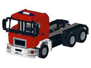 De recette instruction POMPIERS CAMION MAN 2 autoconstruction pièce unique MOC LEGO TECHNIC  </span>