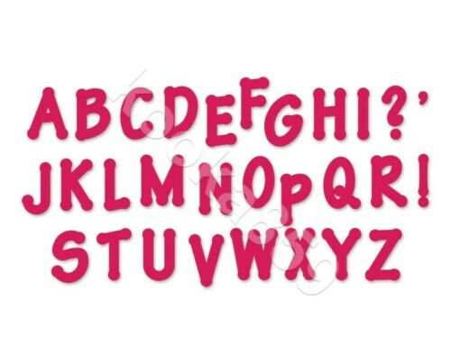 """Set of 10 Felt Die Cut 2/"""" Alphabet Letters Iron-on or Sew-on Patch Applique Name"""