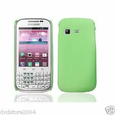 Pellicola + custodia BACK cover VERDE per Samsung Galaxy Chat B5330