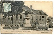 CP 21 CÔTE-D'OR - Nolay - Maison Natale et Statue du Grand Carnot