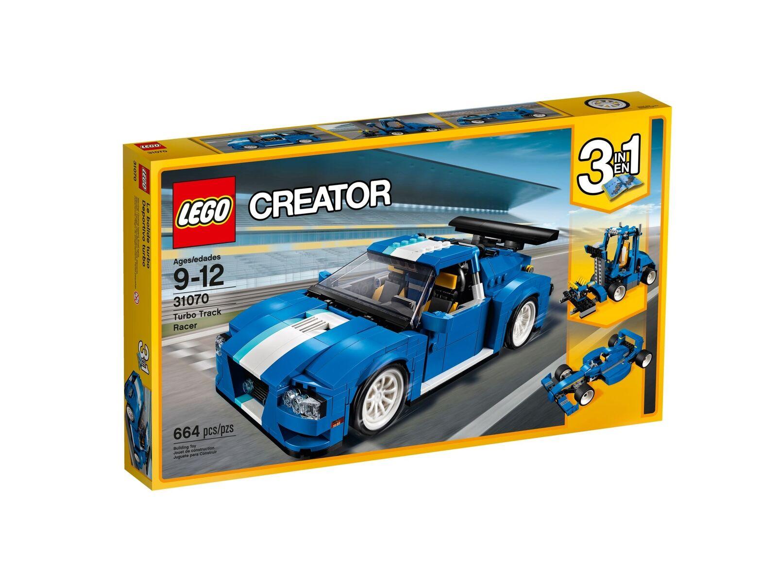basso prezzo del 40% LEGO ® Creator Creator Creator 31070 Turbo auto da corsa  memorizzare