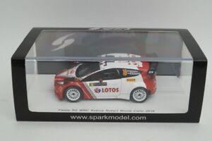 Spark 1/43 Ford Fiesta Rs Wrc N ° 16 Monte Carlo 2016 Kubica S4969