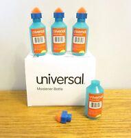 24 Universal Envelope Moistener Letter Sealer Bottles With Sponge Tip Licker