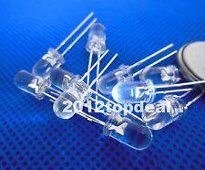 20pcs 5mm Cyan 490-500nm LED diode High Luminous for Traffic Lights