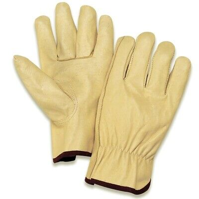 """/""""JULY BLOW OUT SALE/"""" 1 Doz Soft Pigskin-Cowhide Leather Drivers Gloves SMALL"""