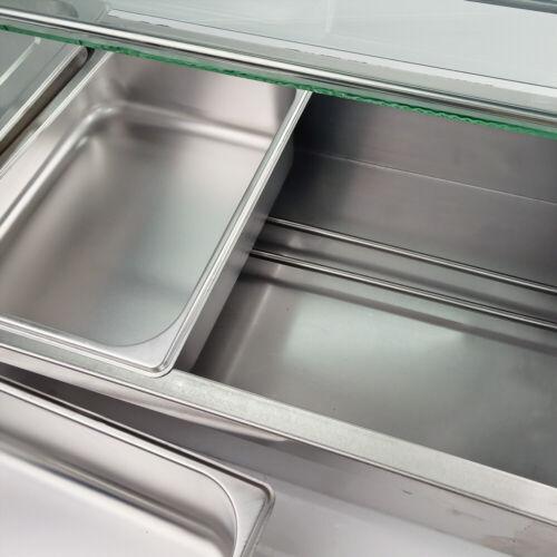 Bain Marie Wärmebehälter Warmwasserbad Speisenwärmer Suppenwärmer Warmhalter