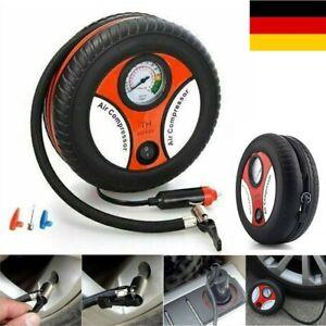 Auto Reifen Luftpumpe Kompressor Druckluft Fahrrad Elektrisch Pump Mit Akku ♥ DE
