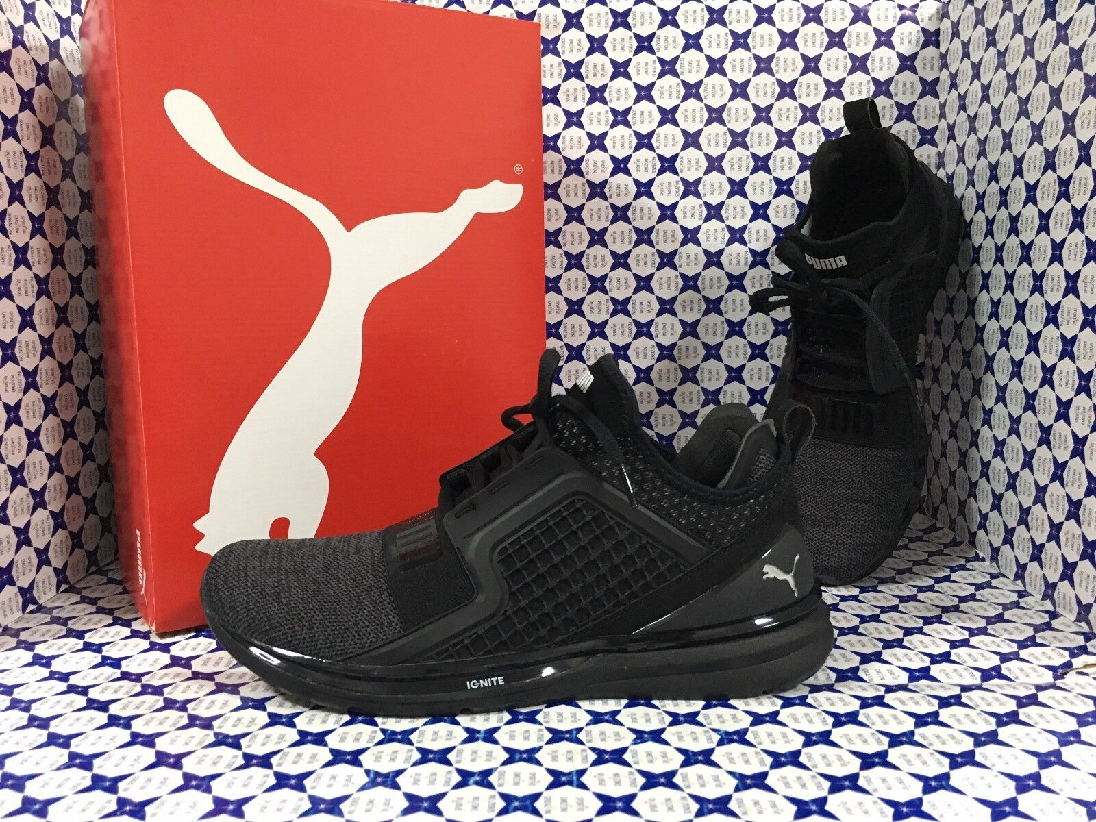 shoes PUMA Ignite men SCONTATE   Limitness Knit - black - 189987