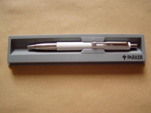 Kugelschreiber NEU Parker Vector Weiss